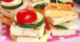 小口總匯三明治