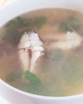 香菜魚塊湯