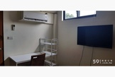 文化大學單人雅房6坪,有冷氣電視對外窗