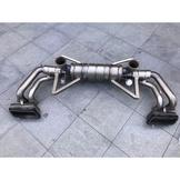 【YGAUTO】二手時間 AUDI 奧迪 新款 R8 5.2 改裝 Akrapovic 蠍子 正品 二手尾段排氣管
