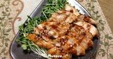 日式照燒雞胸肉(鶏むね肉の照り焼き)[一]