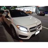 【FB搜尋桃園阿承】賓士 超人氣GLA250跑6.8萬 2015年 2.0 白色 二手車 中古車
