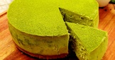 【和風】宇治綠茶芝士蛋糕-Green Tea Cheese Cake