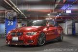 僅此一台2007年式BMW e92 335ci 電鍍紅 全車精品改裝 無待修