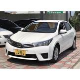 2014 豐田Toyota Altis 1.8 手自排 認證車!內外極新!只賣43萬8!實價43萬8跟您談!