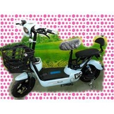 綠馳電動車E-Bike- AEJ2 (水藍)-電動自行車/電動輔助自行車/電動機車/電動車