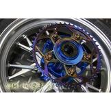 SJMT昇傑-惡搞手工廠 鈦合金 輕量化 加大 齒盤 43T 齒盤 gogoro 2 3