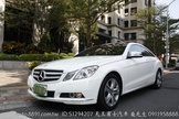 BENZ E250 COUPE 2011年 白色 全景  一手 原版件 天王賓士