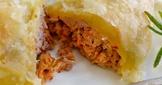 泡菜豬肉酥皮捲♪ 3種材料做簡易鹹點