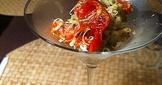 【前菜】酪梨烤蕃茄沙律 Avocado and Roasted Tomato Salad