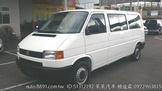 T4長軸 2003年2.5汽油自排白色 女主人最愛 可換車可全貸 $15萬元