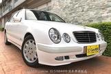 稀少漂亮白色E200K小改款2.0機械增壓~極省油性能馬力強第三方優質認證車