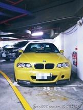 E46 M3 6速手排 芥末黃,售79萬 (可小刀議價)送整年牌照稅