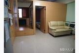 景安站捷運共構8樓1+1套房,收納空間多