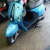 2011年的水藍色many110,車况良好。可以配合分期