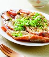 蒜蓉蒸蝦(3)