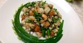 蝦仁奶香玉米韮菜花