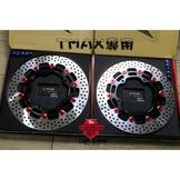 【 輪將工坊 】 TMAX 530 FAR SA 碟盤 雙碟 310MM T媽媽 YAMAHA 黃牌 大羊 洞洞盤 蟬叫