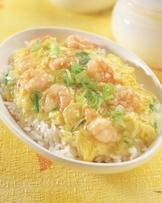 滑蛋蝦仁燴飯(2)