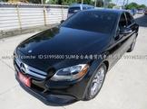賓士C300 W205 2.0,IKEY,全車原版件,有夠美,車況保養完整。