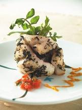 蘿勒鱸魚卷