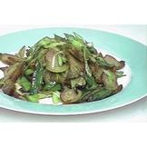 蒜苗炒臘肉(3)