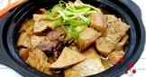 滷爌肉+油豆腐