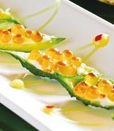 芥末鮭魚卵苦瓜