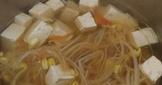 快煮鍋蕃茄黃豆芽豆腐湯