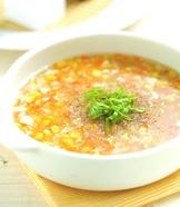 玉米雞茸湯