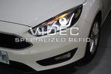 威德汽車 福特 15- FOCUS MK 3.5 雙 導光 LED 大燈 總成 遠近 魚眼