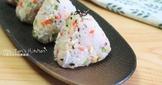 日式吻仔魚三角飯糰~ 野餐料理