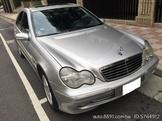 2001年 BENZ 賓士 C320 W203 銀色 Avantgarde