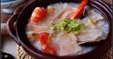 鮑魚干貝海鮮粥