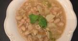 青蒜馬鈴薯豆子義麵湯
