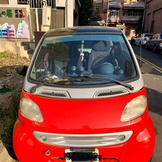 smart 450 for two 1999 二手車 車主自售 紅色銀骨600cc
