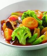 茄汁燴什錦蔬菜