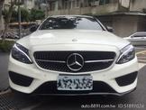 2017總代理Benz C43 AMG  一手車 原鈑件 原廠保固中 (誠可議)