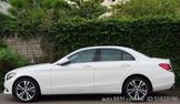 《自售》3年車低里程白色賓士C300全景天窗四輪傳動版