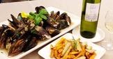 法式白酒燴淡菜 Moule