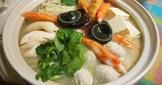 香菜皮蛋鍋