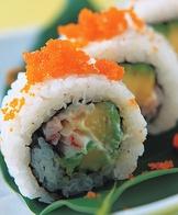 酪梨蟹肉棒卷
