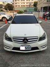((車主自售))BENZ C250白色黑內裝大全配