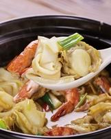 麻油海鮮煲