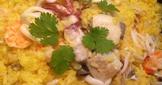 🌻蕃紅花海鮮燉飯