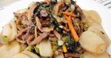 年菜系列-有心食譜:低脂後腿肉絲炒年糕