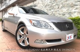 LS460 最旗艦新車價480尊龍VIP原廠保養里程原鈑件保證大DV影音非430
