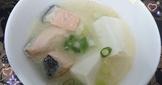 鮭魚味噌湯(電鍋版)