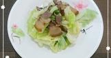 茶臘肉炒高麗菜(簡單料理)