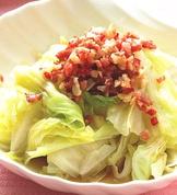蒜香高麗菜(1)